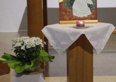 Icône de l'Anastasis dans la chapelle